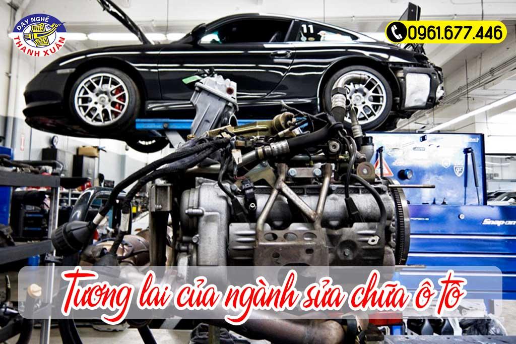 Tương lai của ngành sửa chữa ô tô