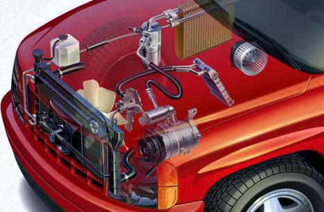 dạy nghề điều hòa ô tô
